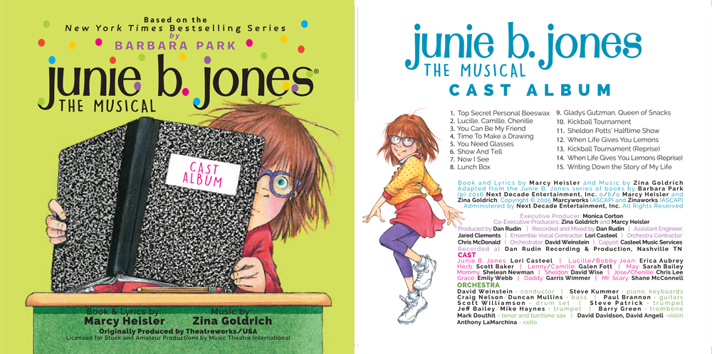 Junie B. Jones Musical Cast Album