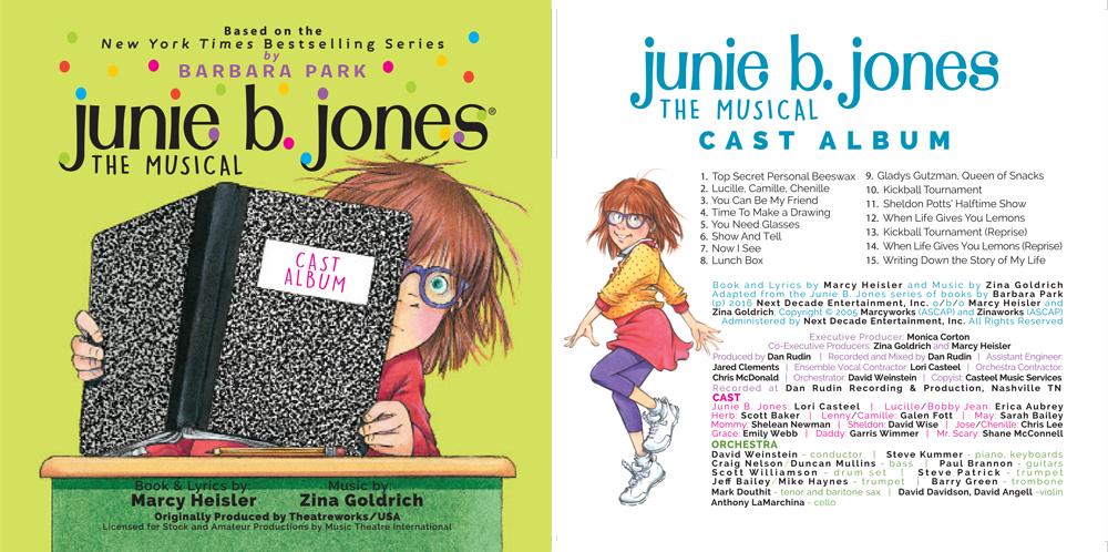Junie B. Jones Musical Cast Album